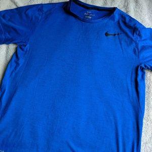 Nike Dri-Fit Blue Shirt